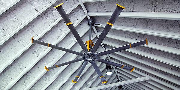 常见的工业大风扇有哪些种类?