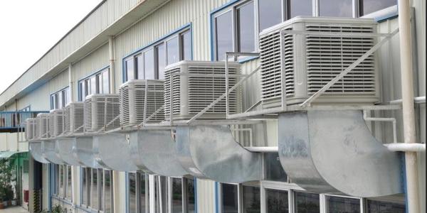工厂太热怎么降温?降温用什么方法比较好?懿晟德工业风扇+环保空调