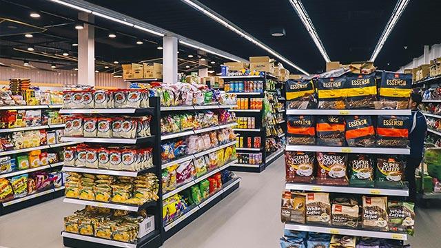 某商场大型超市环保空调案例