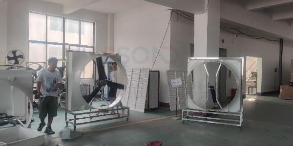 出厂的每一批负压风机,懿晟德都做到抽样检测,深得客户信赖!