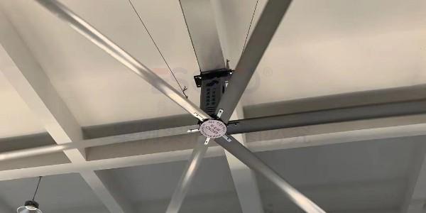 工业大吊扇的减温实际效果在于哪些方面?